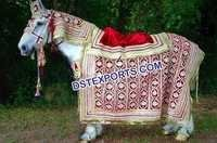 Indian Wedding Horse Decoration