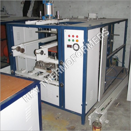 Disposal Plate Making Machine