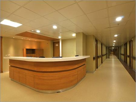 Hospital Reception Table
