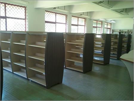Wooden Library Racks