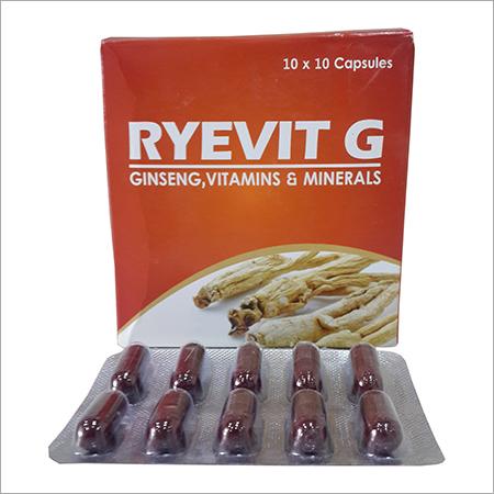 Ginseng, Vitamin, Mineral