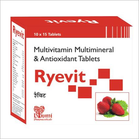 Multivitamin + Multiminerals + Antioxidants