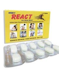 Diclofenac Sodium,Paracetamol,Mag. Trisilicate & C