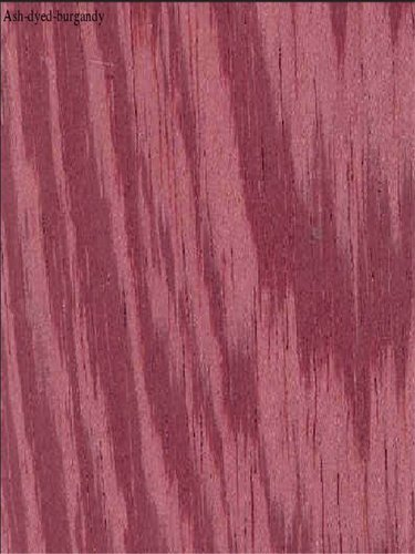 Ash-dyed-burgandy Veneers