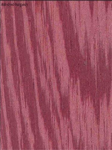 Ash-dyed-burgandy Veneers