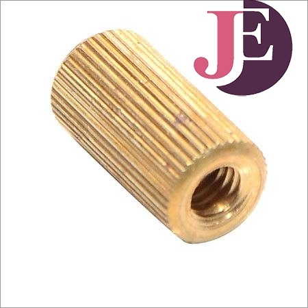 Brass Straight Knurled Press Inserts