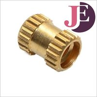Brass Straight Knurling Threaded Insert