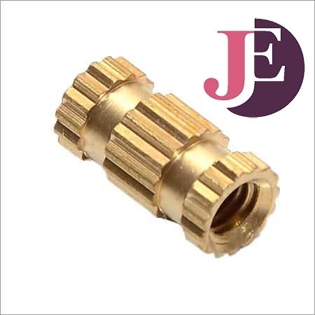 Brass Straight Knurled Molding Inserts