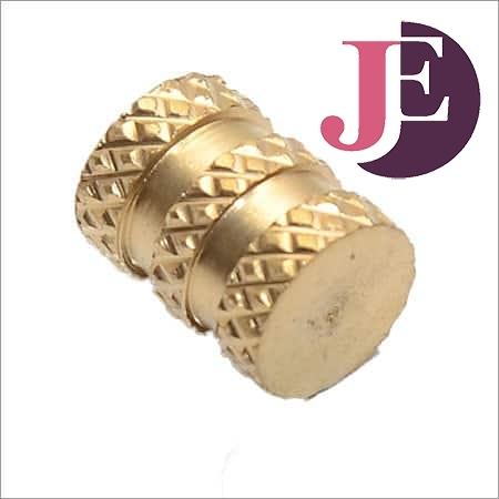 Brass Wood Diamond Knurling Inserts