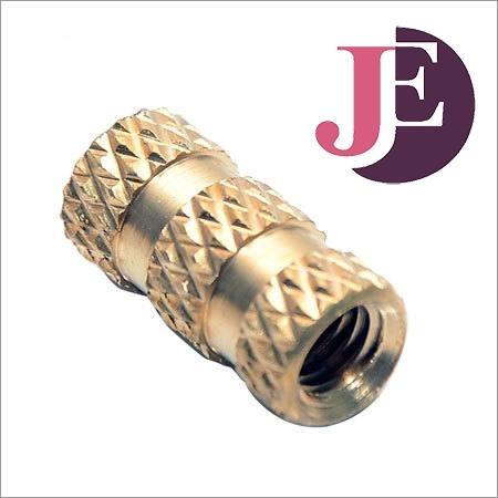 Brass Cross Diamond Knurling Inserts