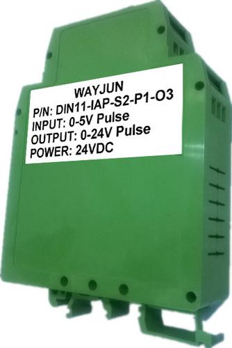 0-5V to 0-24V pluse isolation transmitter, sine wave shaping
