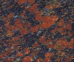 Ruby Blue Granite