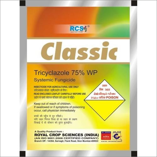 Tricyclazole 75 % WP