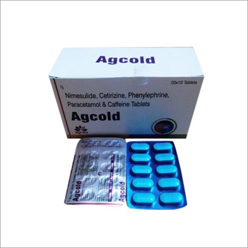 Ag Cold Tablet