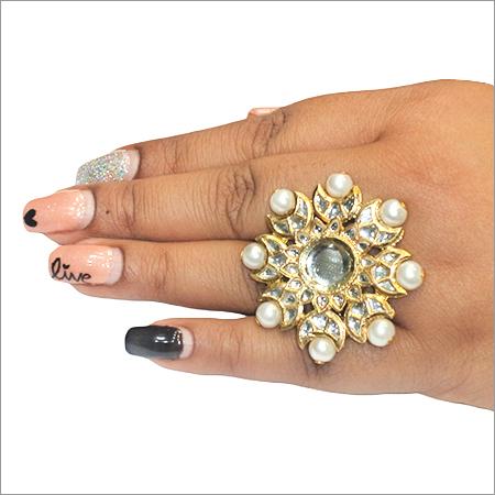 Kundan Ladies Ring