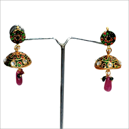 Designer Kundan Earrings