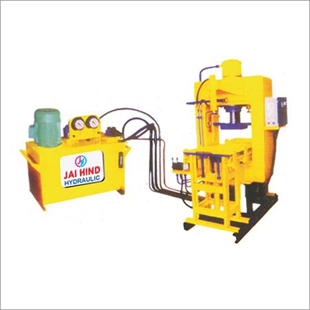 High Pressure Paver Block Machine