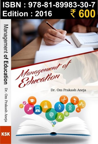 MANAGEMENT OF EDUCATION