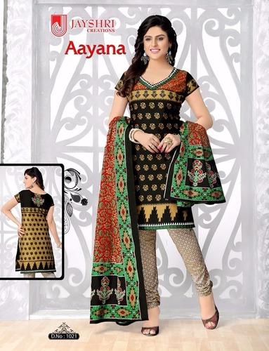 Jaishri Cotton Printed Dress Material