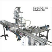 Liquid Pistone Filling Machine