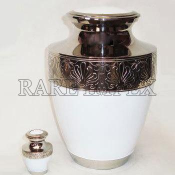 Antique Brass Urn