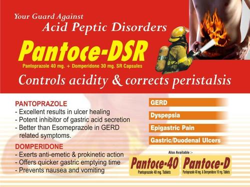Pantoprazole & Domperidone SR Capsules