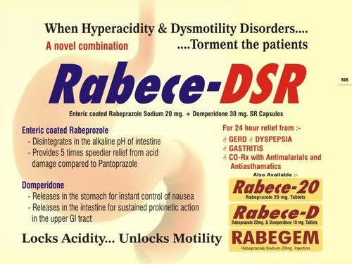 Enteric Coated Rabeprazole Sodium 20 Mg Capsule