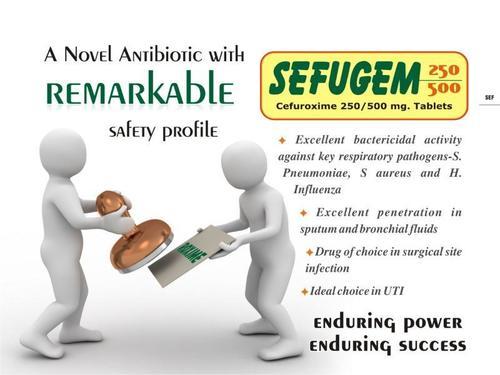 Cefuroxime 250/500 Mg tablets