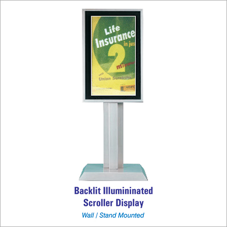 Backlit Scrolling Display