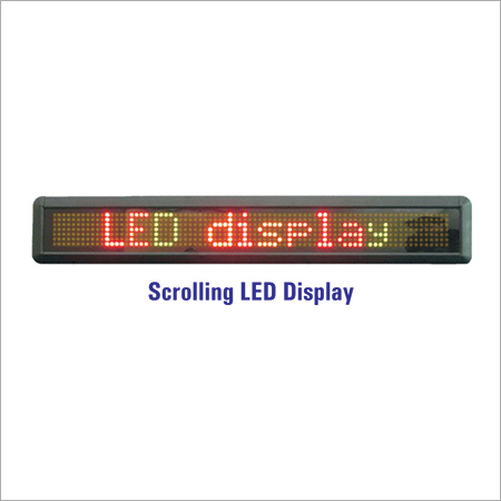 LED Moving Display