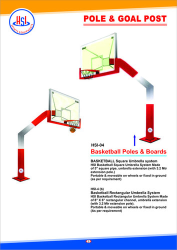 Basketball Square Umbrella System