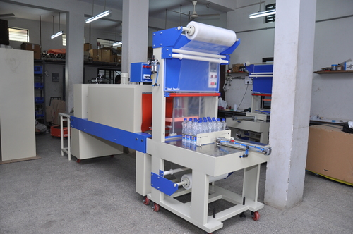 Web Sealer With Shrink Machine