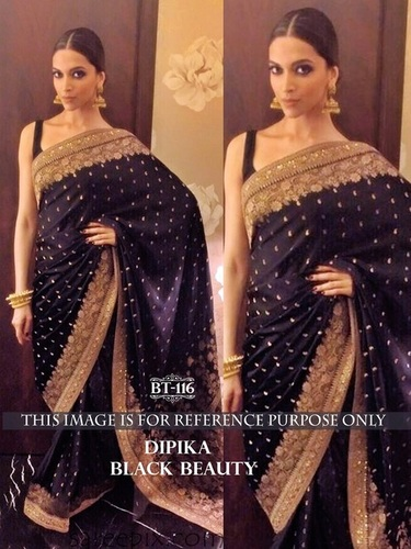 Designer Exclusive Nylon Georgette Saree