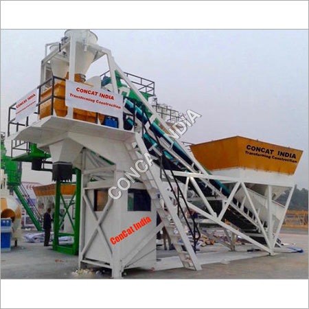 Compact Concrete Batching & Mixing Plant