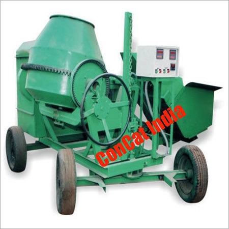 10-7 Cft Concrete Mixer Hydraulic Hopper & Control Panel