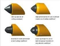 Horizontal Directional Drilling Machine Carbide Bits