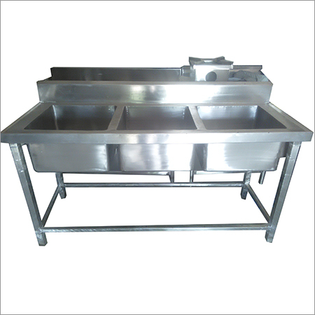 Stainless Steel Food Serving Counter
