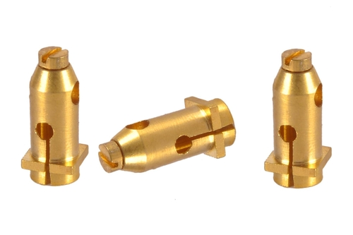 Brass Electrical Two Plug Sockets