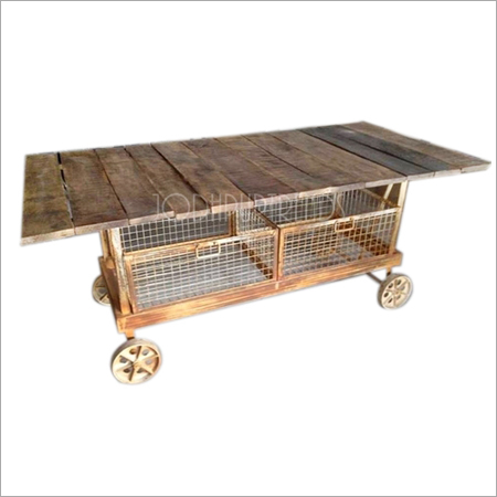 Indian Industrial Kitchen Trolley
