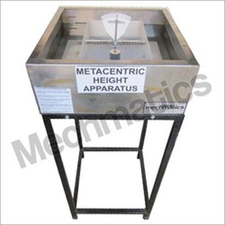 Metacentric Height Apparatus