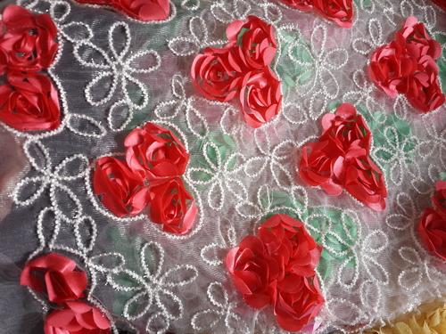 Exclusive Fulkari work fabrics maker