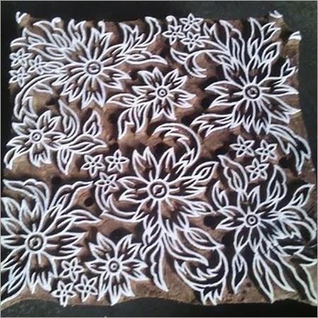 textile printing block
