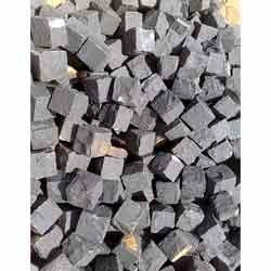 Black Granite Cobbles Stone