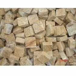 Yellow Granite Cobble Stones
