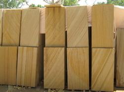 Teak Wood Sand Stone