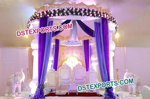 Aladdin Indian Wedding Mandap