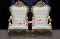 Wedding Throne King and Queen Chair