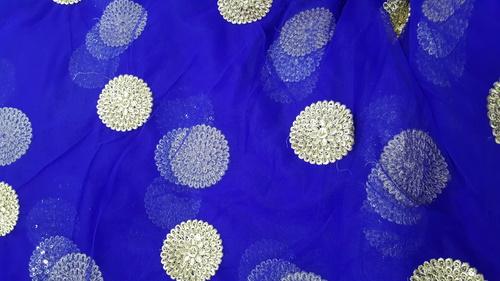 Round Fulka designes on fabrics
