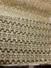 Fulkari work fabrics