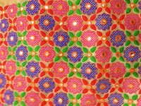 Fancy Fulkari work Cloth fabrics